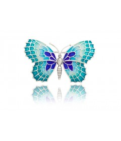 Broszka średni motyl BLAVA