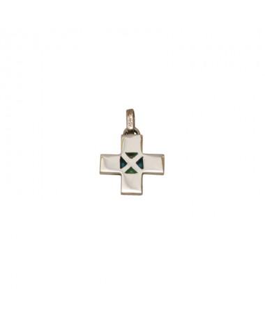 Krzyżyk srebrny model 202