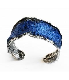 Bransoletka INTENZZA Electric Blue srebro