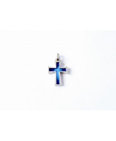 Krzyżyk srebrny model 31