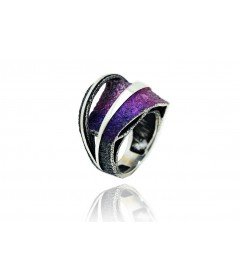 Ring  SIDERAL Lila