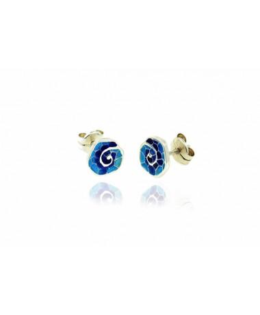 Kolczyki Cargolis Blue