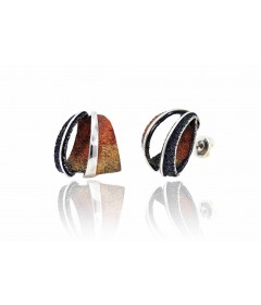 Earrings SIDERAL Ocre