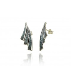 Earrings FENIX Gris