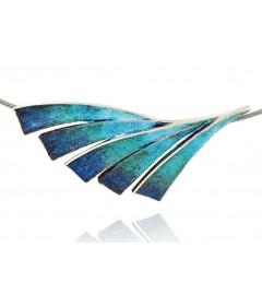 Necklace FENIX Blue